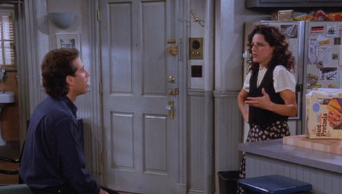 """Seinfeld""'s Jerry and Elaine"
