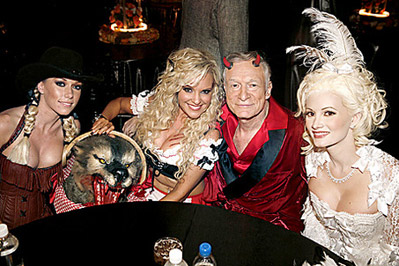'Playboy' Halloween Party