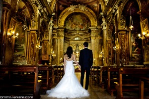 Rome Wedding shot by Dmitri Markine
