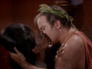 """Star Trek""Interracial Kiss, 1968"