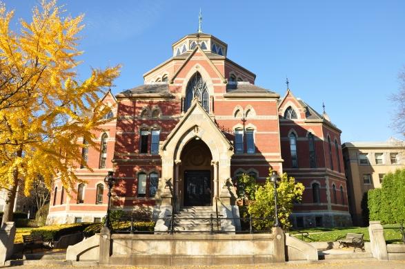 Brown University's Robinson Hall, 2009