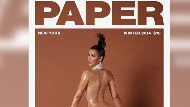 Kim Kardashian, 'Paper' Magazine 2014