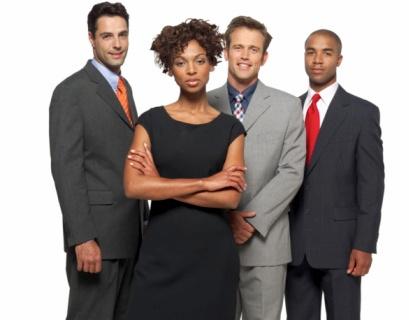 Woman and Men At Work (via Black Enterprise)