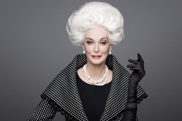 Carmen Dell'orefice for Rouge, Fall/Winter 2012