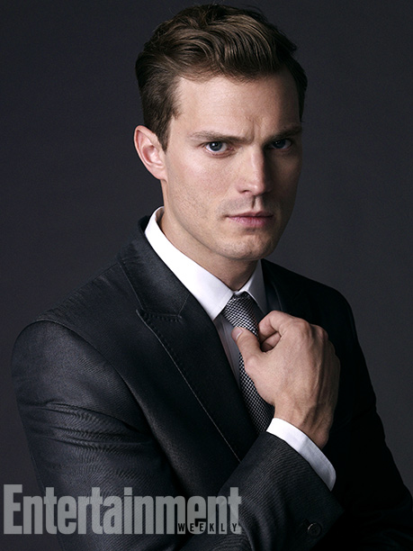 Jamie Dornan as Christian Grey (EW.com)