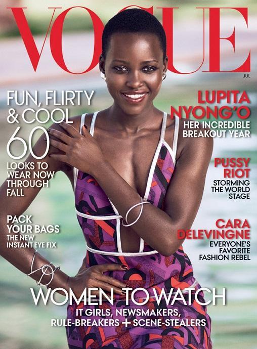 Lupita Nyong'o, 'Vogue' Magazine Jul. 2014 (IB Times)