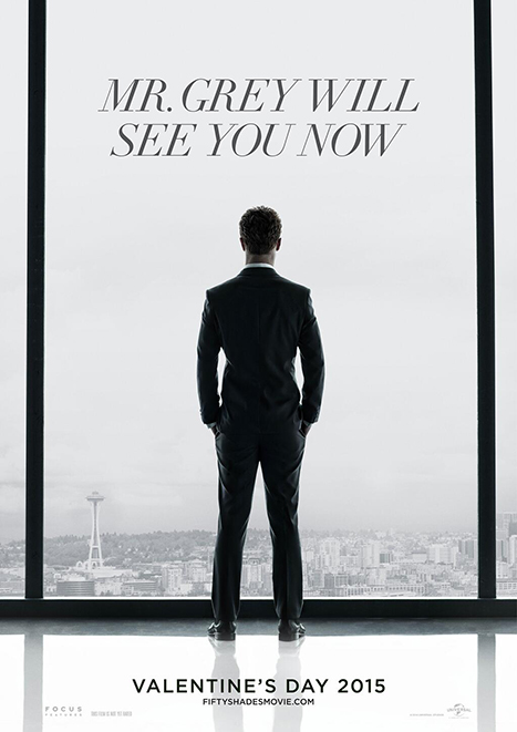 'Fifty Shades of Grey' official movie poster (US Weekly)