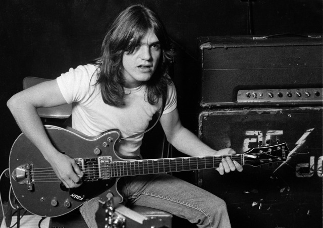 ACDC's Malcolm Young, 1970s (ACDC)