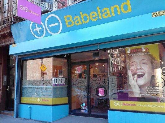 Babeland, New York's Lower East Side location (Yelp)