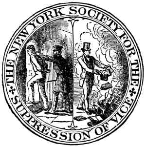 The New York Society for the Suppression of Vice seal (Loyno)