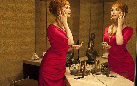 'Mad Men' season 1 still with Christina Hendricks (The Telegraph UK)