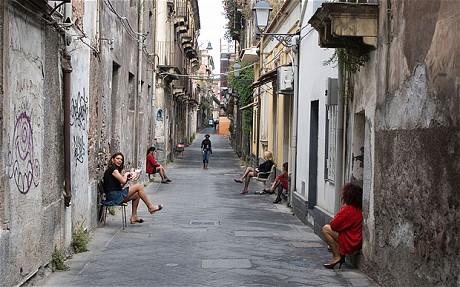 Italian prostitutes (The Telegraph)