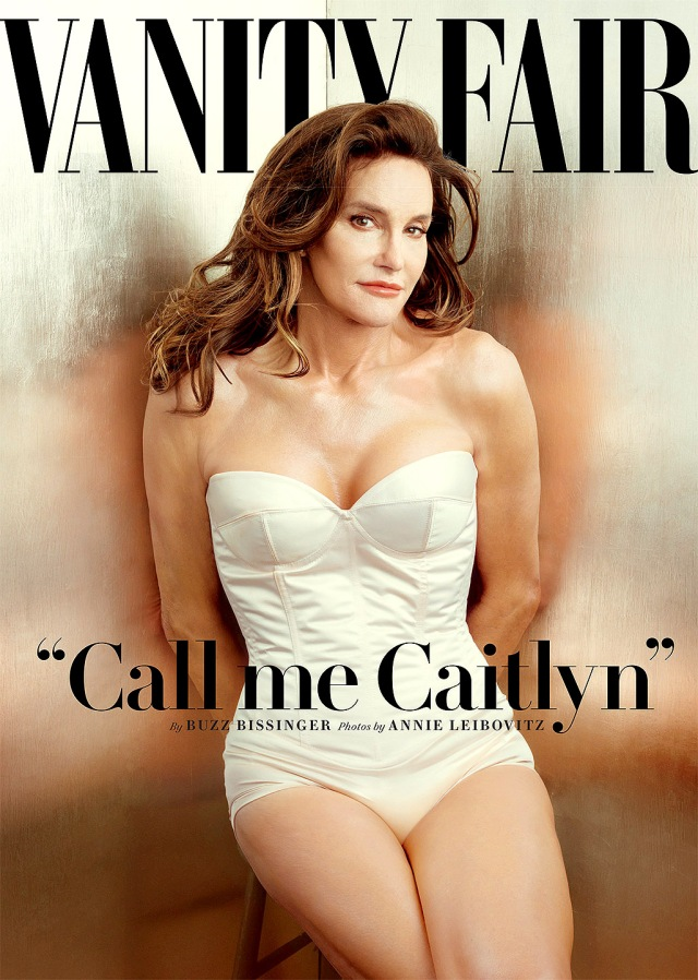 Caitlyn Jenner on the 'Vanity Fair' cover (Us Magazine)