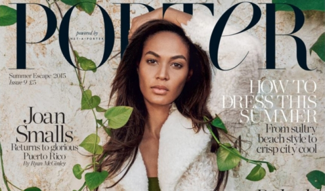 Joan Smalls for 'Porter' Magazine (Fashion Week Daily)