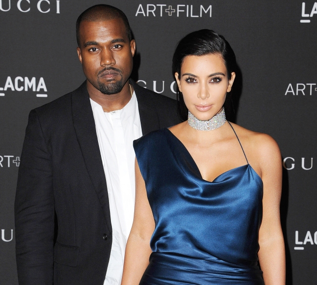 Kanye West and Kim Kardashian West (US Weekly)
