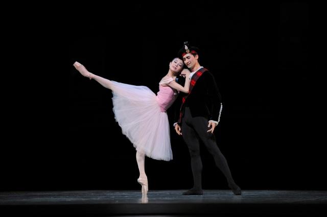 San Francisco Ballet's Yuan Yuan Tan and Davit Karapetyan in George Balanchine's 'Scotch Symphony,' 2012 (Odette's Ordeal)