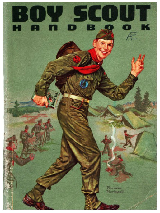 'Boy Scout Handbook,' 1962 (Envisioning the American Dream)