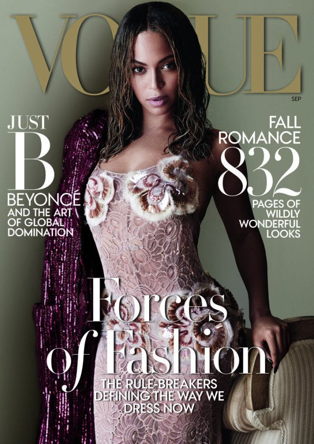 Beyonce's 'Vogue' Cover, September 2015 (PopSugar)