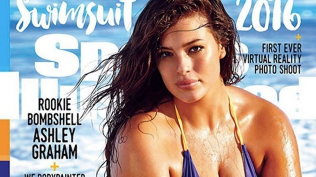 Ashley Graham, 'Sports Illustrated' Swimsuit Edition, 2016 (Mashable)