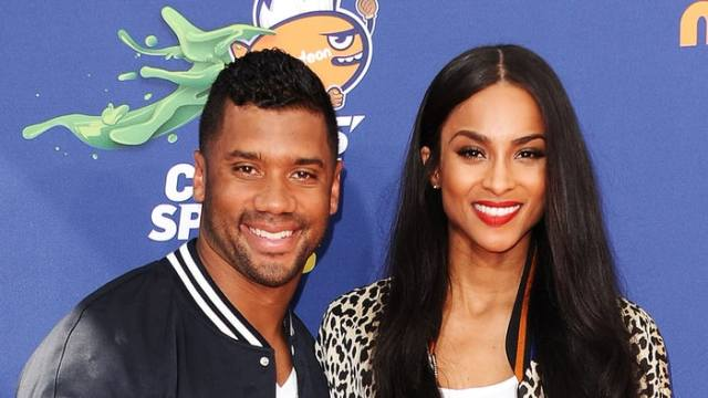 Russell Wilson and Ciara (Wenner Media)