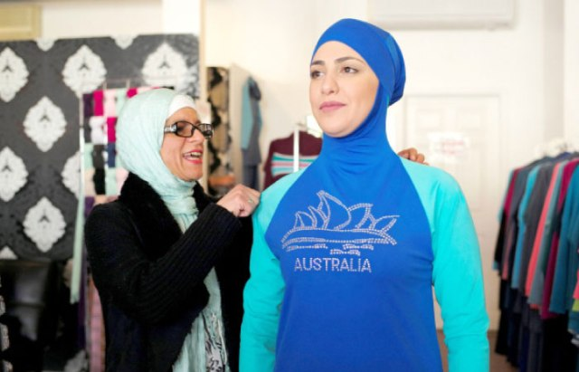 Burkini designer Aheda Zanetti (Saudi Gazette)