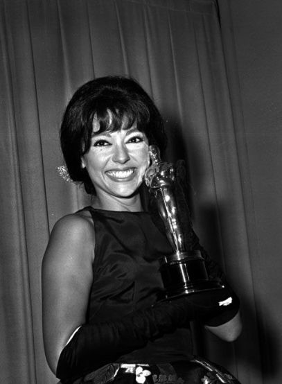Rita Moreno, 1961 (Pinterest)
