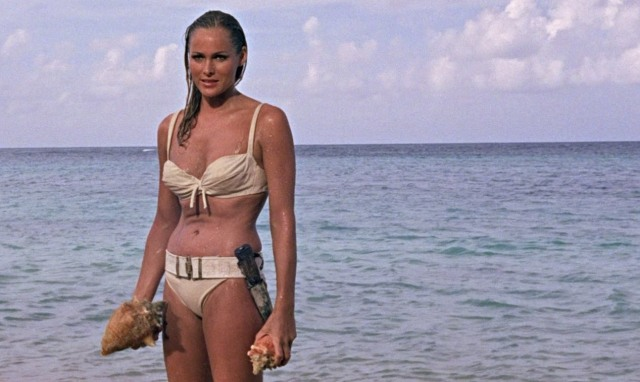 "Ursula Andress in ""Dr. No,"" 1962 (YouTube)"