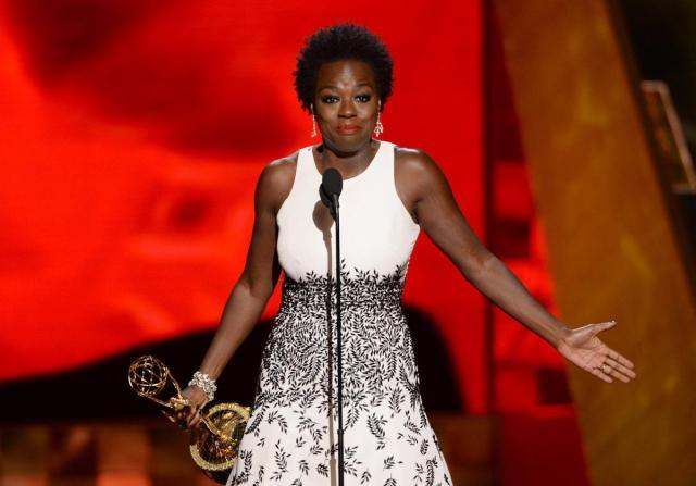 Viola Davis, Emmys 2015 (Betches)