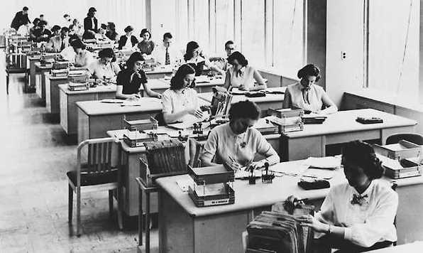 Working women, 1950s (Minorities in the 1950s)