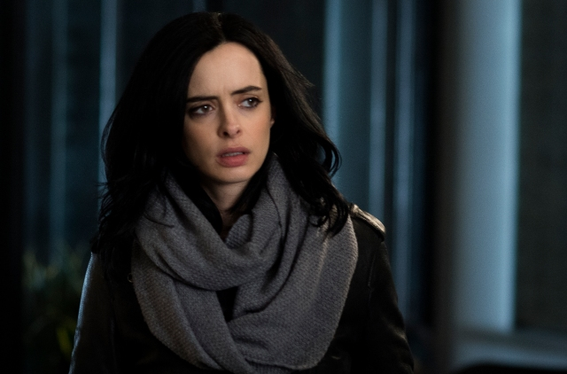 Krysten Ritter as Jessica Jones (IndieWire)