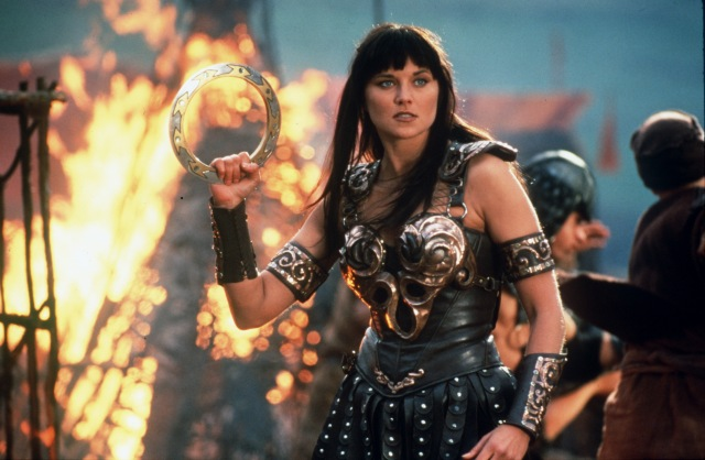 "Lucy Lawless in ""Xena: Warrior Princess"" (Beyond The Marquee)"