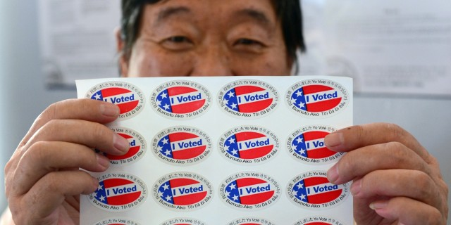 Asian-American voter (The Huffington Post)