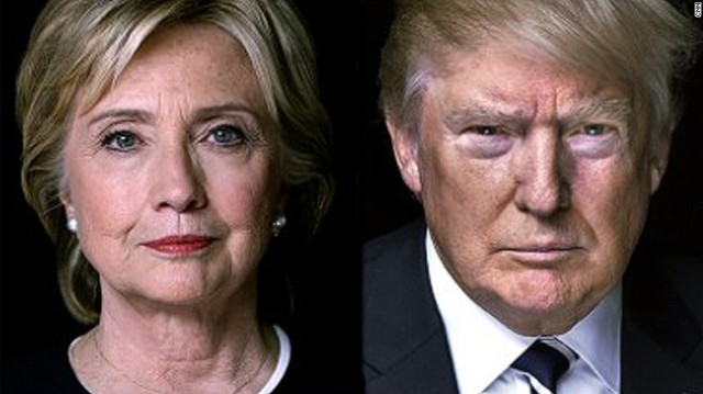 Hillary Clinton and Donald Trump (CNN)