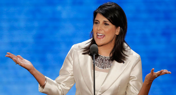 South Carolina Governor Nikki Haley (Politico)