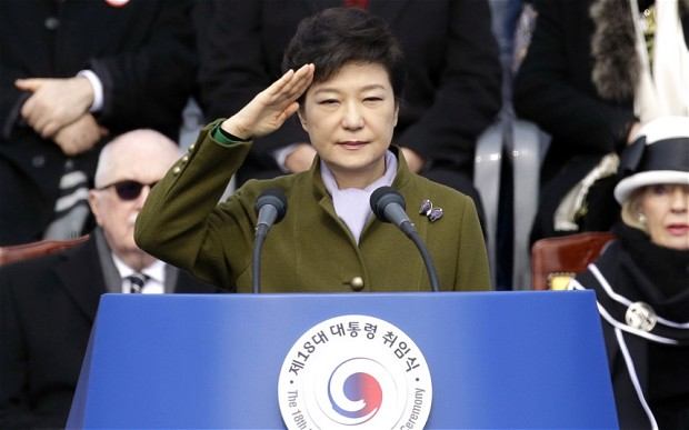 South Korean President Park Guen-hye (NovoRossia)