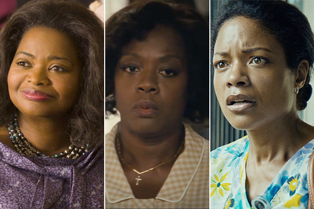 7 Best Supporting Actress Nominees Octavia Spencer, Viola Davis and Naomie Harris (The Wrap)