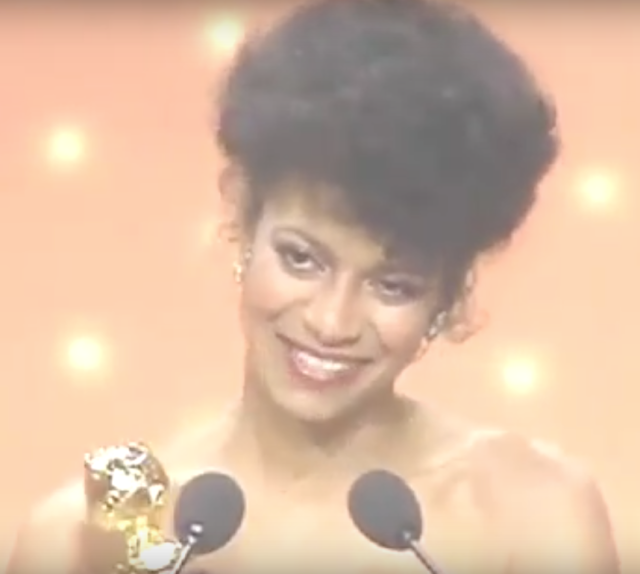 Debbie Allen at the Golden Globes, 1983 (YouTube)