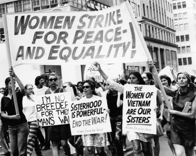 Women's Strike For Peace And Equality March, 1970 (Time)