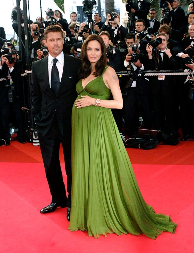Angelina Jolie and Brad Pitt, Cannes 2008 (Bella Naija)