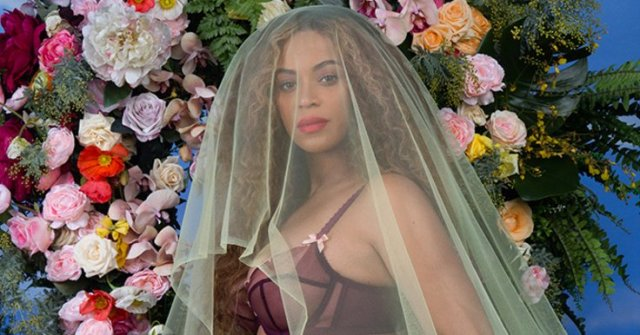 Beyonce's Instagram pregnancy announcement, 2017 (Time)