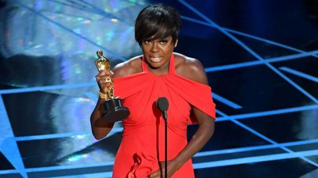 Viola Davis Oscar win, 2017 (TV Insider)