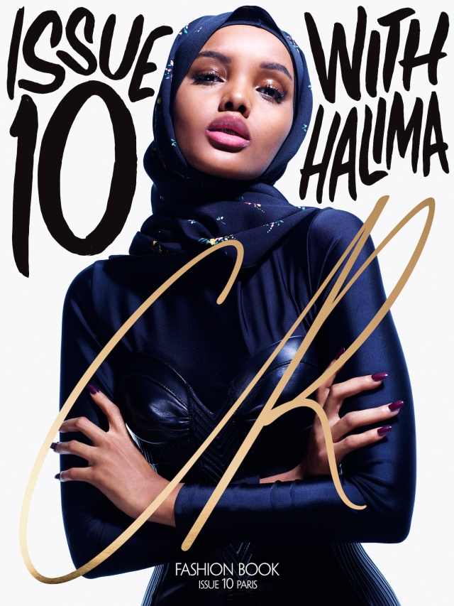 Halima Aden covering 'CR Fashion Book' (CR Fashion Book)