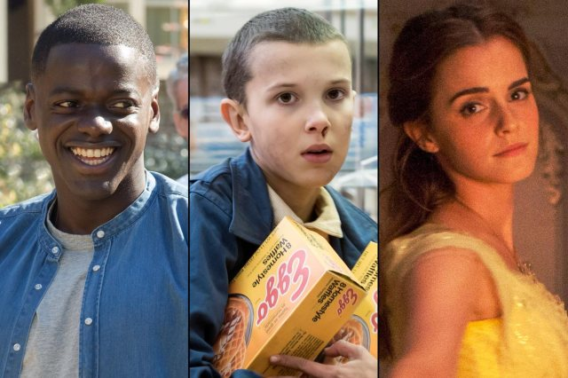 MTV Movie & TV Awards nominees Daniel Kaluuya, Millie Bobby Brown, and Emma Watson (Entertainment Weekly)