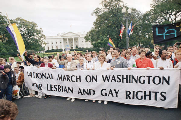 Second National March on Washington for Lesbian and Gay Rights, 1987 (The Washington Post)