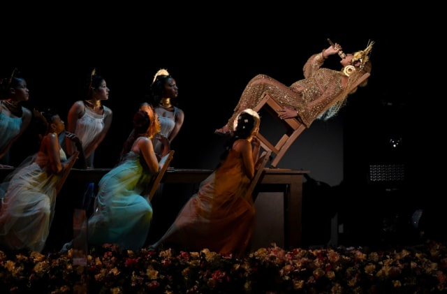 Beyonce's performance at the 2017 Grammy Awards (The Fader)