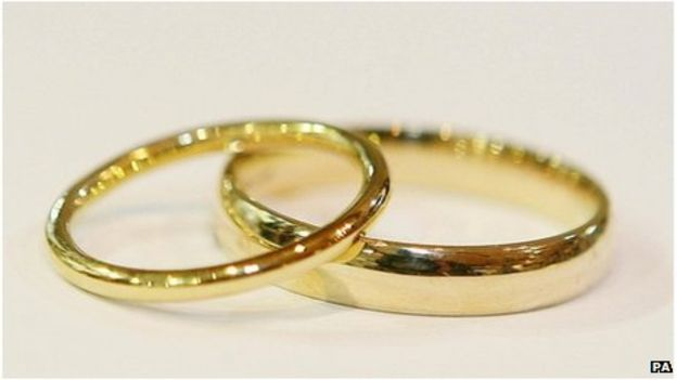 Wedding rings (BBC)