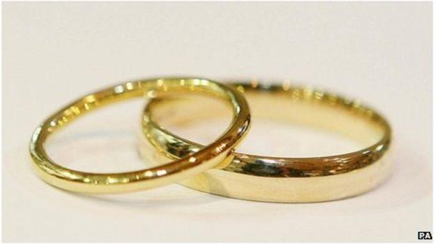 Wedding rings (BBC)