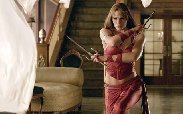 Jennifer Garner in 'Elektra,' 2005 (Ouch Press)