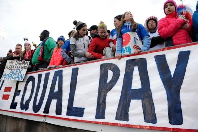 Equal Pay March (The Atlantic)