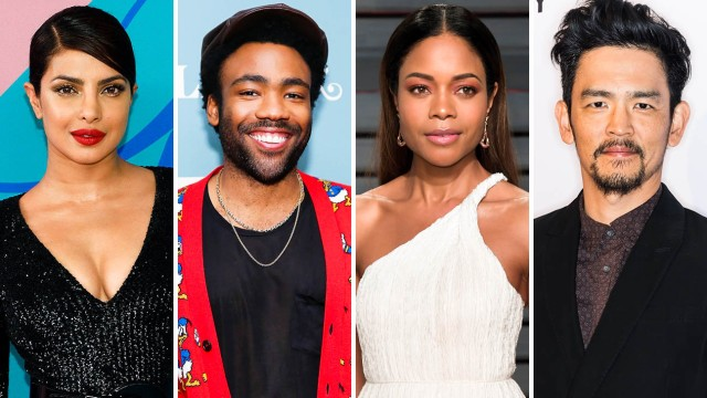 Priyanka Chopra, Donald Glover, Naomie Harris, and John Cho (The Hollywood Reporter)